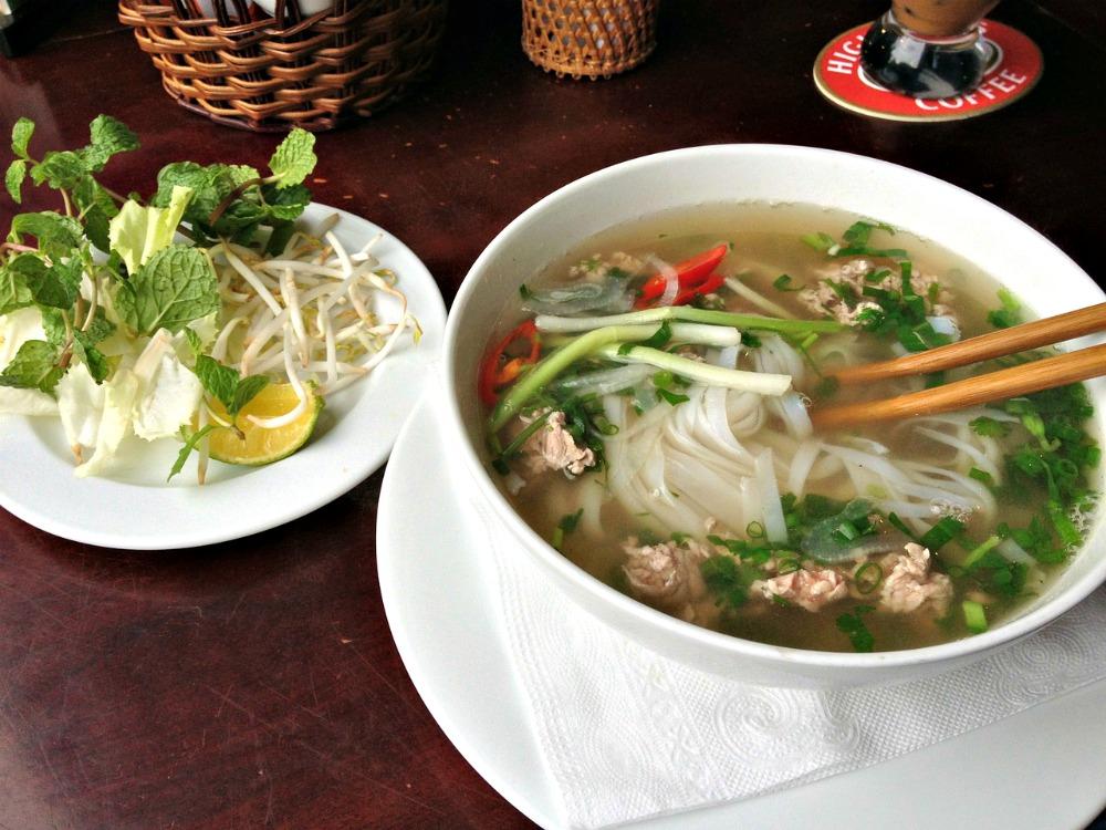 Wanderlust travel tag - Pho, Vietnam