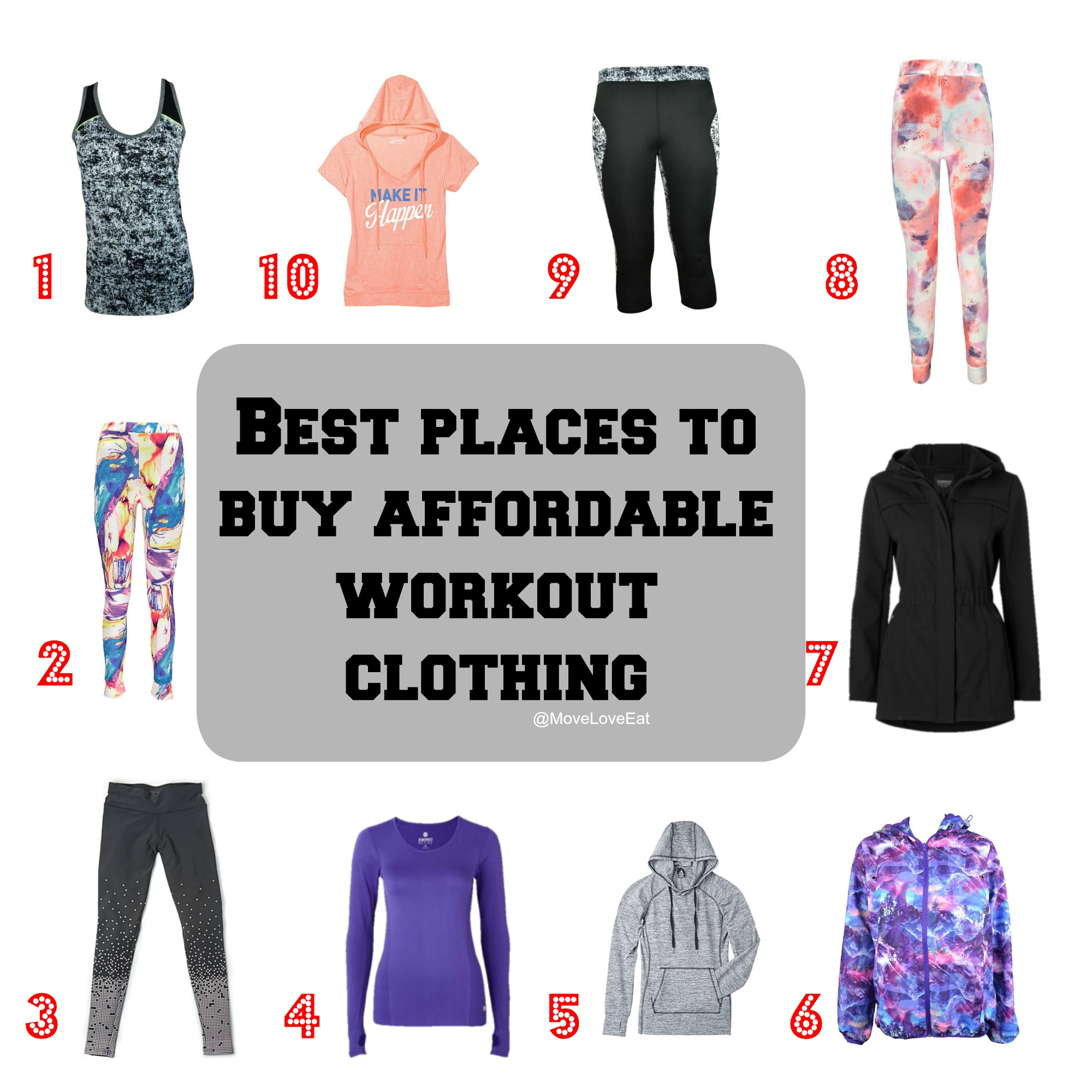 The Best Places to Buy Affordable Workout Clothing - Move Love Eat ... 6879f4340