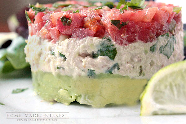 Avocado Tuna Salad - Non Lettuce Salads