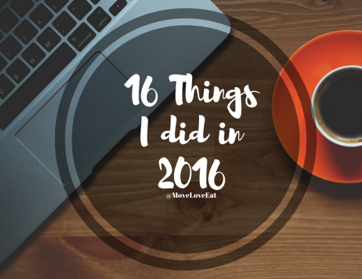 16 Things I did in 2016