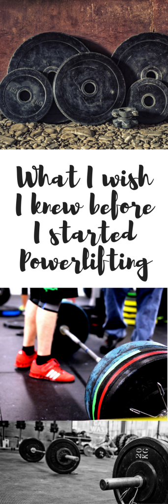 What I wish I knew before I started powerlifting