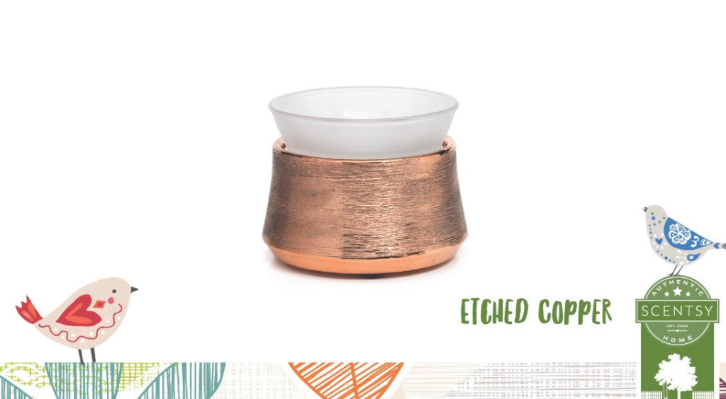 etched copper scentsy
