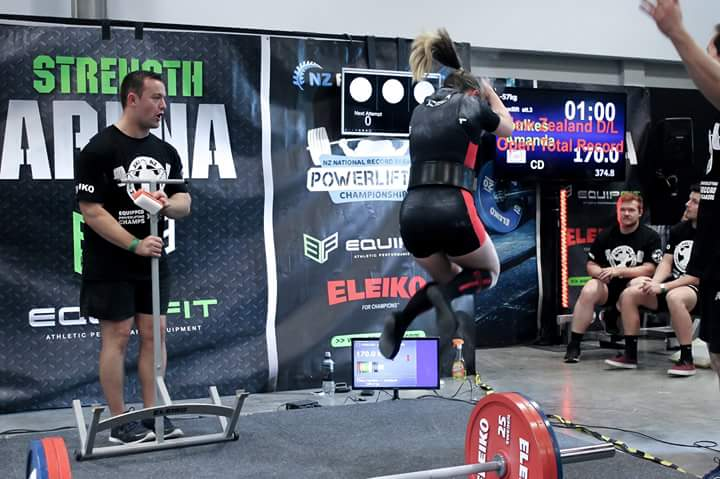 NZ Record Breakers 2017 - Squat